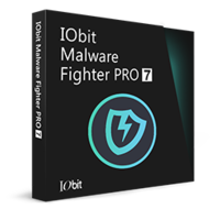 IObit Malware Fighter 7 PRO (1 Ano/3 PCs) + Protected Folder Pro  boxshot