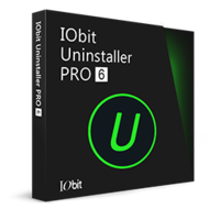 IObit Uninstaller PRO 6 (1 year subscription / 1 PC)