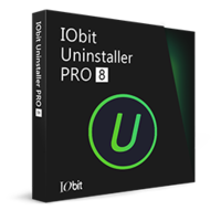 IObit Uninstaller 8 PRO (1-jarig abonnement / 1 PC) - Nederlands* boxshot