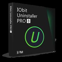 IObit Uninstaller 8 PRO (suscripción de 1 año, 1 PC) - Español boxshot