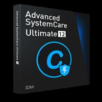 Advanced SystemCare Ultimate 12 (un an d'abonnement, 3 PCs) - Français*