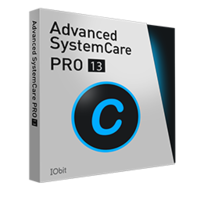Advanced SystemCare 13 PRO (1 Year subscription, 3 PCs) boxshot