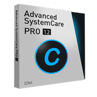 Advanced SystemCare 12 PRO (1 YEAR, 3 PCs)- Exclusive boxshot