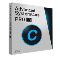 Advanced SystemCare 13 PRO (1 rok / 3 PC) + 2 darmowe prezenty - Polski  boxshot
