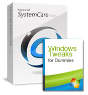 Advanced SystemCare PRO with eBook ( for extra 2 PCs) Screen shot