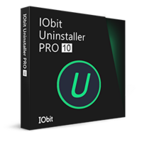 IObit Uninstaller 10 PRO (1 Ano/1 PC) - Portuguese boxshot