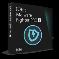 IObit Malware Fighter 7 PRO (1 rok / 3 PC) z darmowymi prezentami - SD+IU - Polski boxshot