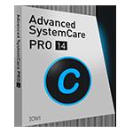 Advanced SystemCare 14 PRO (1 års prenumeration / 3 PC, 30-dagars prov) - Svenska boxshot