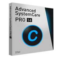 Advanced SystemCare 14 PRO (1 YEAR, 3 PCs)- Exclusive boxshot