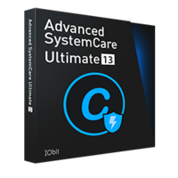 Advanced SystemCare Ultimate 13 (1 Ano/3 PCs) + Smart Defrag 6 Pro – Portuguese boxshot