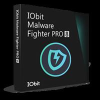 IObit Malware Fighter 8 PRO 1年 1ライセンス 更新・アップグレード boxshot