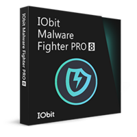 IObit Malware Fighter 8 PRO (1 år / 3 PCs) - Dansk boxshot